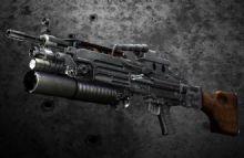 m249自动步枪武器