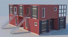 集装箱改装的住宅,很潮