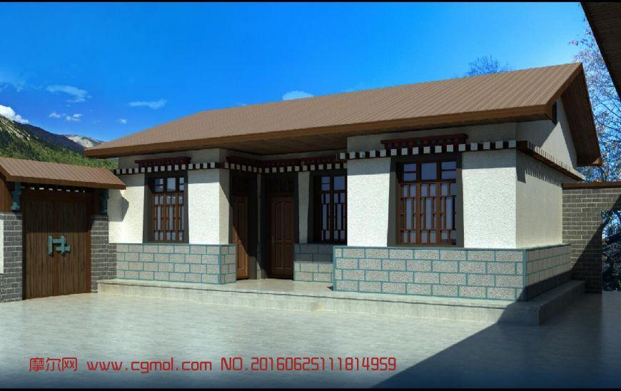 藏族民宅建筑