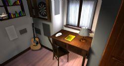 现代小卧室室内