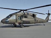 uh 60a黑鹰直升机