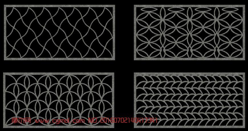 建筑模型 中式建筑  标签:水泥窗花 作品描述: 作者其他作品 10 271 0