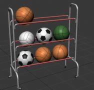 篮球,足球,排球架子,球架