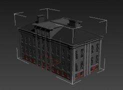 中式建筑max模型