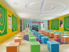 儿童音乐教室3D模型