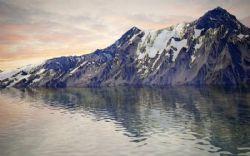 湖边山体3D模型,带高清贴图
