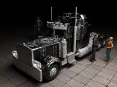 擎天柱版黑色卡车