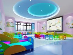 幼儿园教室宿舍一体化设计