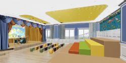 六一儿童节庆典现场3D模型