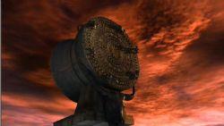 影视广告级别的铜鼓3D场景