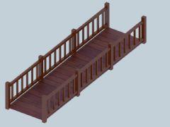 木栈道护栏