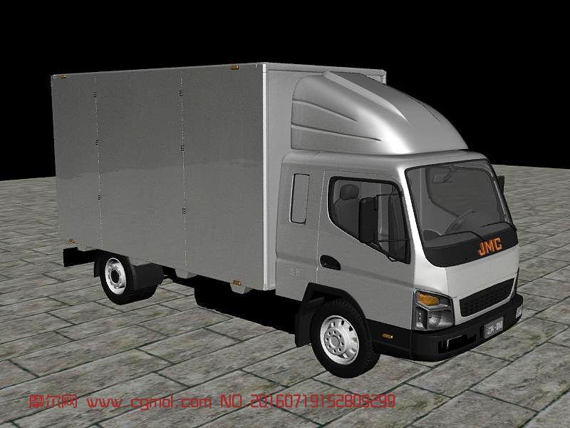 运输模型 汽车  标签:江铃货车凯瑞卡车厢式货车 作品描述: 上一个