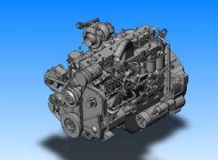 高精度发动机,3dm,stp两种格式