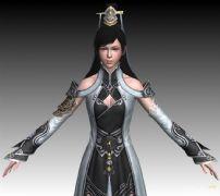 天涯明月刀-女真武3D模型