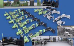 卷烟厂卷接包机组,卷烟设备3D模型