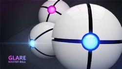 小球 glare master ball