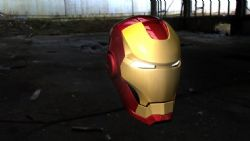 钢铁侠头部,头盔