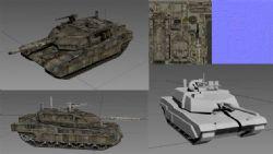 坦克,装甲车游戏简模
