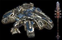 极地战车(FBX格式,带动画)+方天画戟(max格式)模型