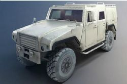 重型防弹装甲车模型