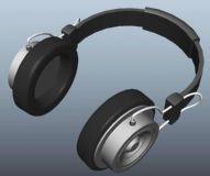 maya头戴式耳机