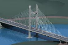 冷江二桥,大桥栏杆