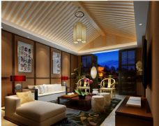 中式客厅,沙发