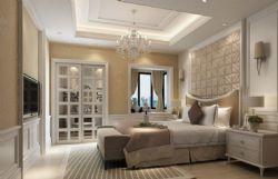 欧式卧室,床