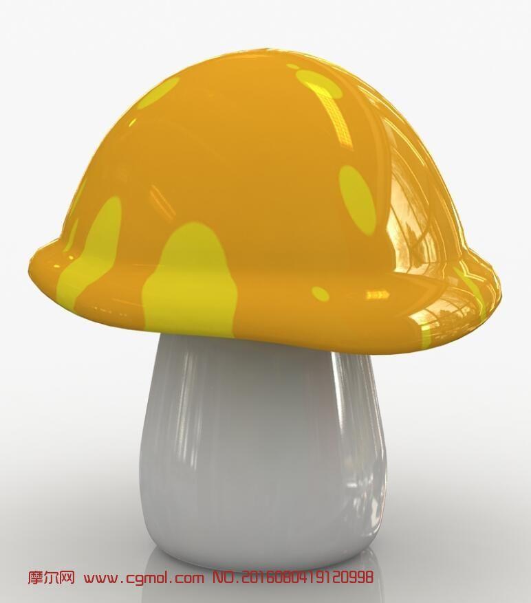 自建的卡通蘑菇