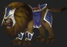 游戏狮子坐骑3D模型