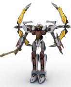 高达-阳天使3dmax模型2014版