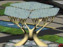 生态树雕塑