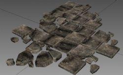 烂石板,踏步石,古城地板,野外乱石