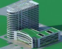 现代医院,办公楼