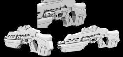 maya次时代手枪