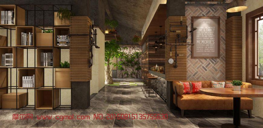 咖啡厅 loft 餐厅