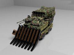 原创洲际装甲车