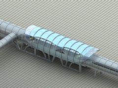 现代车站,高铁站