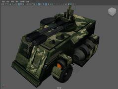 maya军事坦克