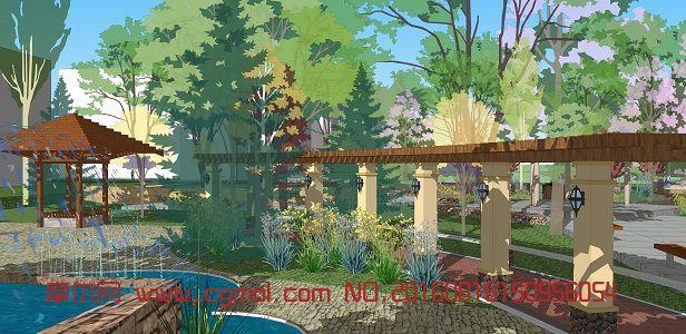 校园园林景观设计