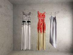 长裙,吊带裙3D模型
