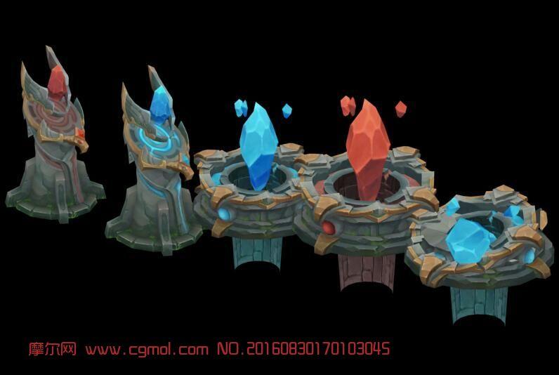 全民超神几个防御塔,景物