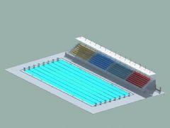 标准竞赛泳池