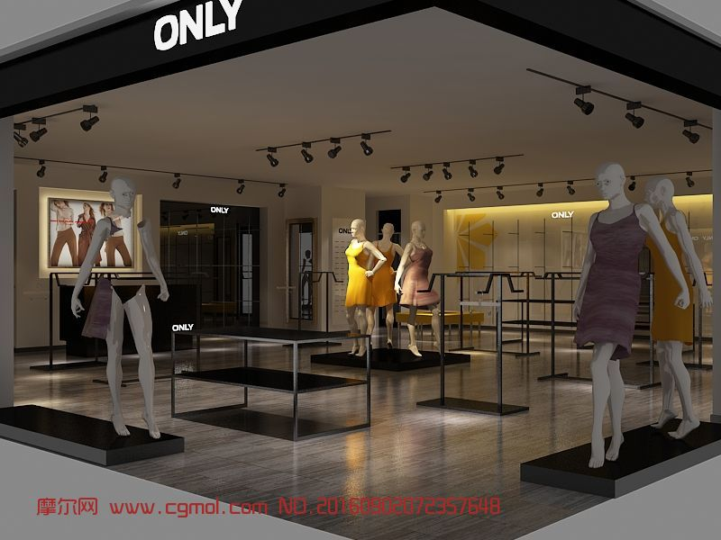 only服装专卖店