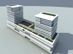 中式商业办公楼