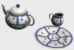 茶具,茶杯,茶壶,碟子组合