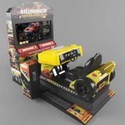 赛车游戏机