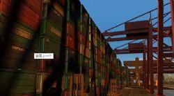 大型装卸港口码头场景