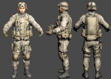 亚洲大兵,特种兵