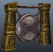 游戏中的一面大鼓maya模型